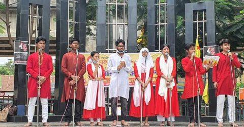 ব্রাহ্মণবাড়িয়ায় ছাত্র মৈত্রী'র শিক্ষা দিবস পালন