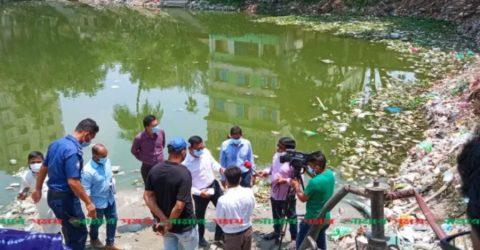 ব্রাহ্মণবাড়িয়া পুকুর ভরাট করার  ৩ জনকে কারাদন্ড  ভ্রাম্যমাণ আদালত