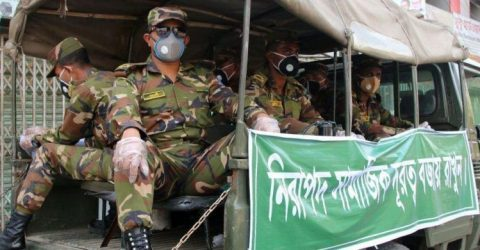কঠোর বিধিনিষেধ বাস্তবায়নে মাঠে থাকবে সেনাবাহিনী
